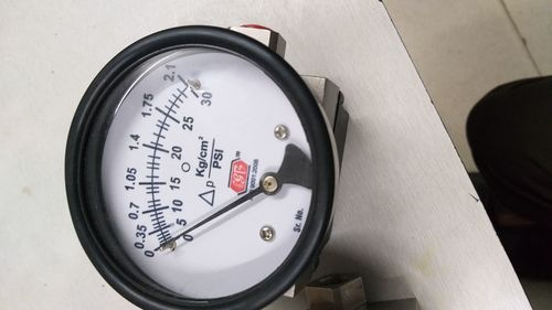 Differential Piston type Pressure gauge (Hirlekar)