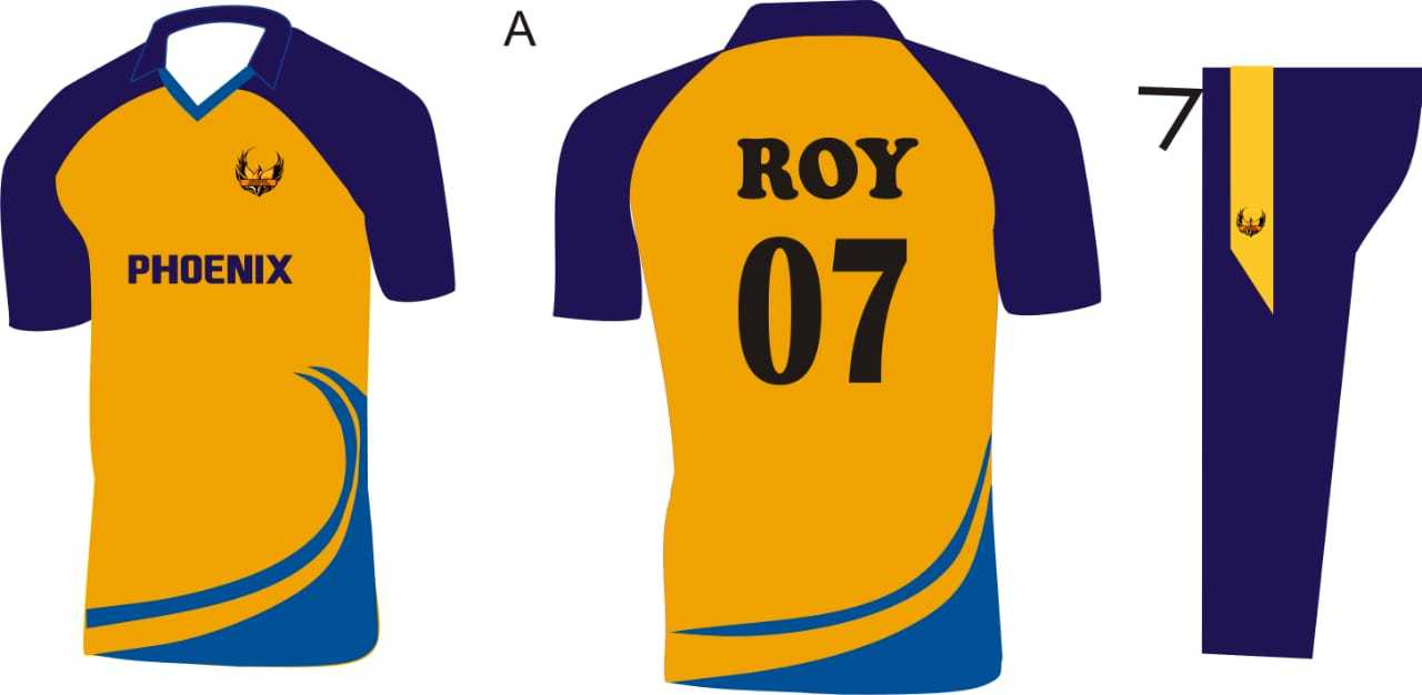 Promotional Cricket Tournament Dress