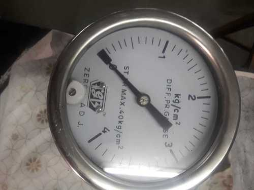 Differential Diaphragm flange type Pressure gauge