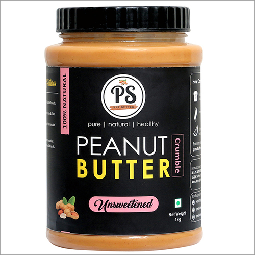 Natural Peanut Butter Unsweetened 1kg