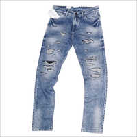 Mens Fancy Rugged Jeans