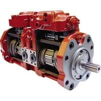 excavator hydraulic pump service