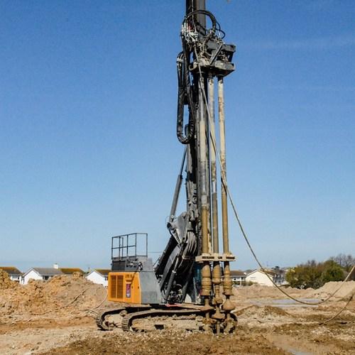 pile boring hydraulic pump service
