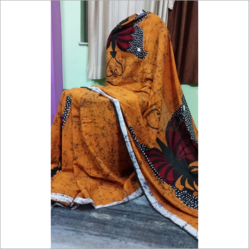 Ladies Malmal Cotton Saree