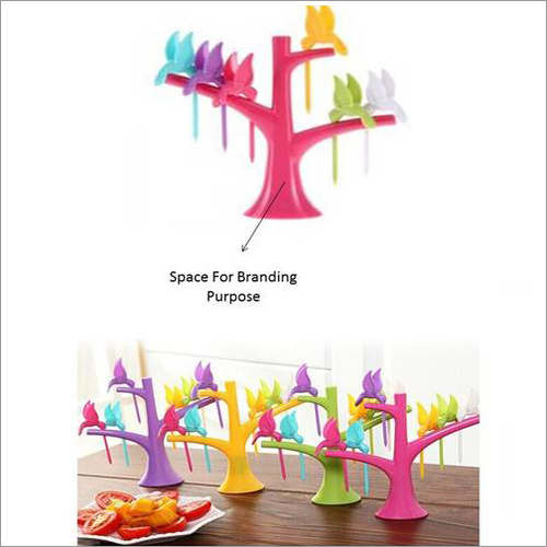 Humming Bird Shape Fruit Fork Picker