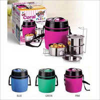 3 Steel Insulated Containers Lunch Box