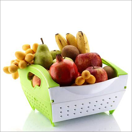 Folding Fruit-Vegetable Basket