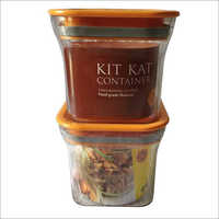 Kit Kat Air Tight Container 600 Ml Set Of 2