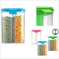 2 In 1  Single Storage Container 2000 Ml Capacity