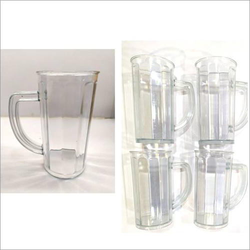 Shake-juice Transparent Mug Set Of 4