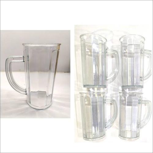 Shake-juice Transparent Mug Set Of 4
