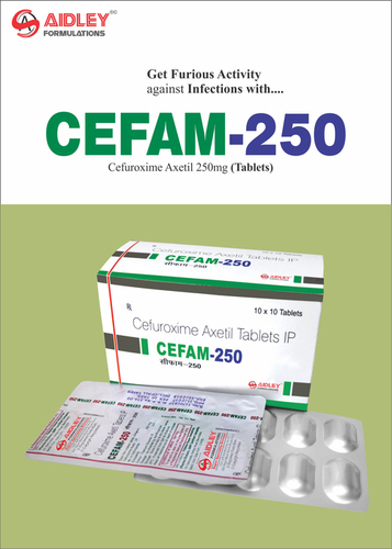 Cefuroxime 250mg Tablet