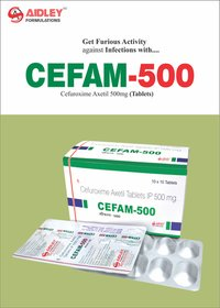 Cefuroxime 500mg Tablet
