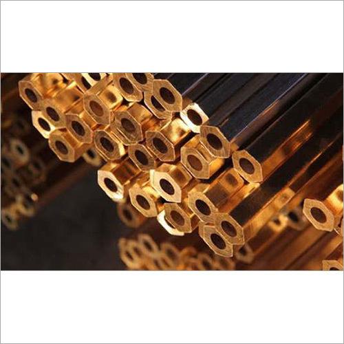 Brass Hexagonal Tube