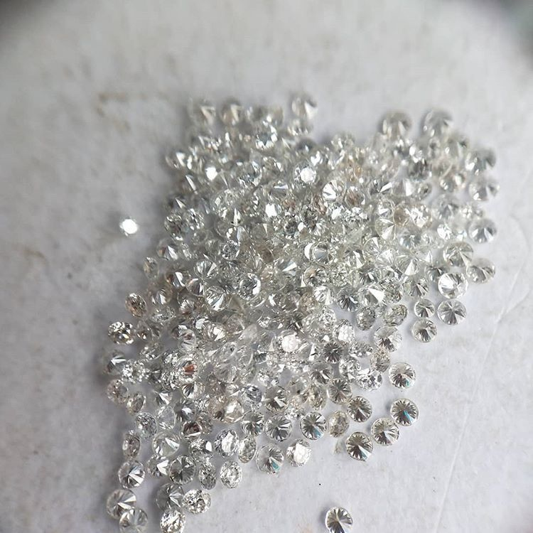 Cvd Diamond 0.9mm to1.10mm GHI VVS VSRound Brilliant Cut Lab Grown HPHT Loose Stones TCW 1