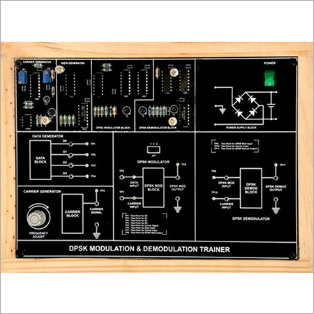 Al-E525 Quadrature Phase Shift Keying Modulation and Demodulation Trainer