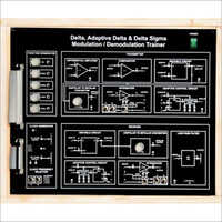 Al-E540 Delta, Adaptive Delta and Delta Sigma Modulation Demodulation Trainer