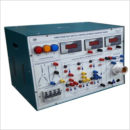 AL-E200B SPEED CONTROL OF DC SERIES MOTOR USING THREE PHASE HALF AND FULL CONTROLLED BRIDGE CONVERTER TRAINER