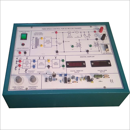 Al-e209a Pwm Speed Control Of Dc Series Motor (Chopper Motor Controller Trainer)