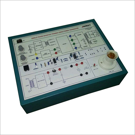 AL-E477 Single Phase Pwm Inverter Using Power Transistor