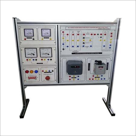 Al-e294d Three Phase Ac Pole Changing (Dhalandar) Induction Motor (Load Test)