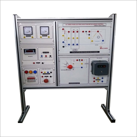 AL-E297C THREE PHASE AC SLIP RING INDUCTION MOTOR (SPEED CONTROL)