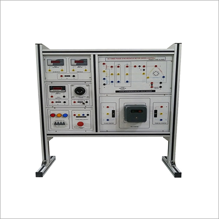 Al-e422c Three Phase Ac Synchronous Machine Trainer (Speed Control)