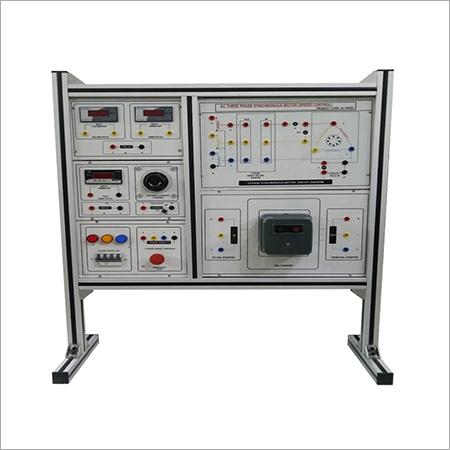 AL-E422D THREE PHASE AC SYNCHRONOUS MACHINE TRAINER (LOAD TEST)