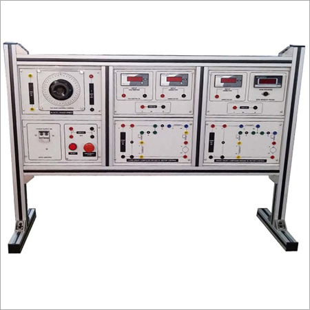 AL-E452C DC COMPOUND MOTOR TRAINER (SPEED CONTROL)