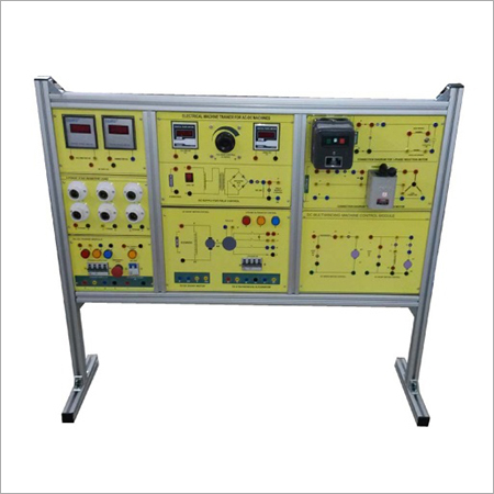 Al-e538b Electrical Machine Trainer (With 3 Motors)