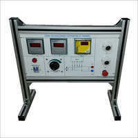 AL-E579 UNDER AND OVER VOLTAGE RELAY TRAINER (STATIC)