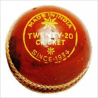 Twenty-20 Cricket Leather Ball