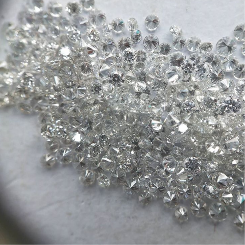 Cvd Diamond 2.10mm to 2.20mm GHI VVS VS Round Brilliant Cut Lab Grown HPHT Loose Stones TCW 1
