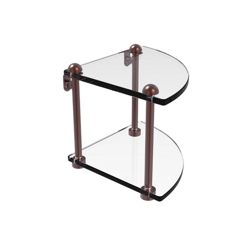 2 Tier Bathroom Glass Shelf