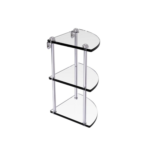 3 Tier Bathroom Glass Shelf