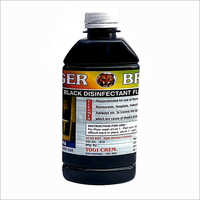 Black Disinfectant Fluid