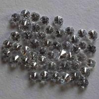 Cvd Diamond 2.30mm to 2.40mm GHI VVS VS Round Brilliant Cut Lab Grown HPHT Loose Stones TCW 1