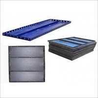 BLUE COATED  SHUTTERING PLATES