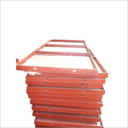 Red Mild Steel Shuttering Plates