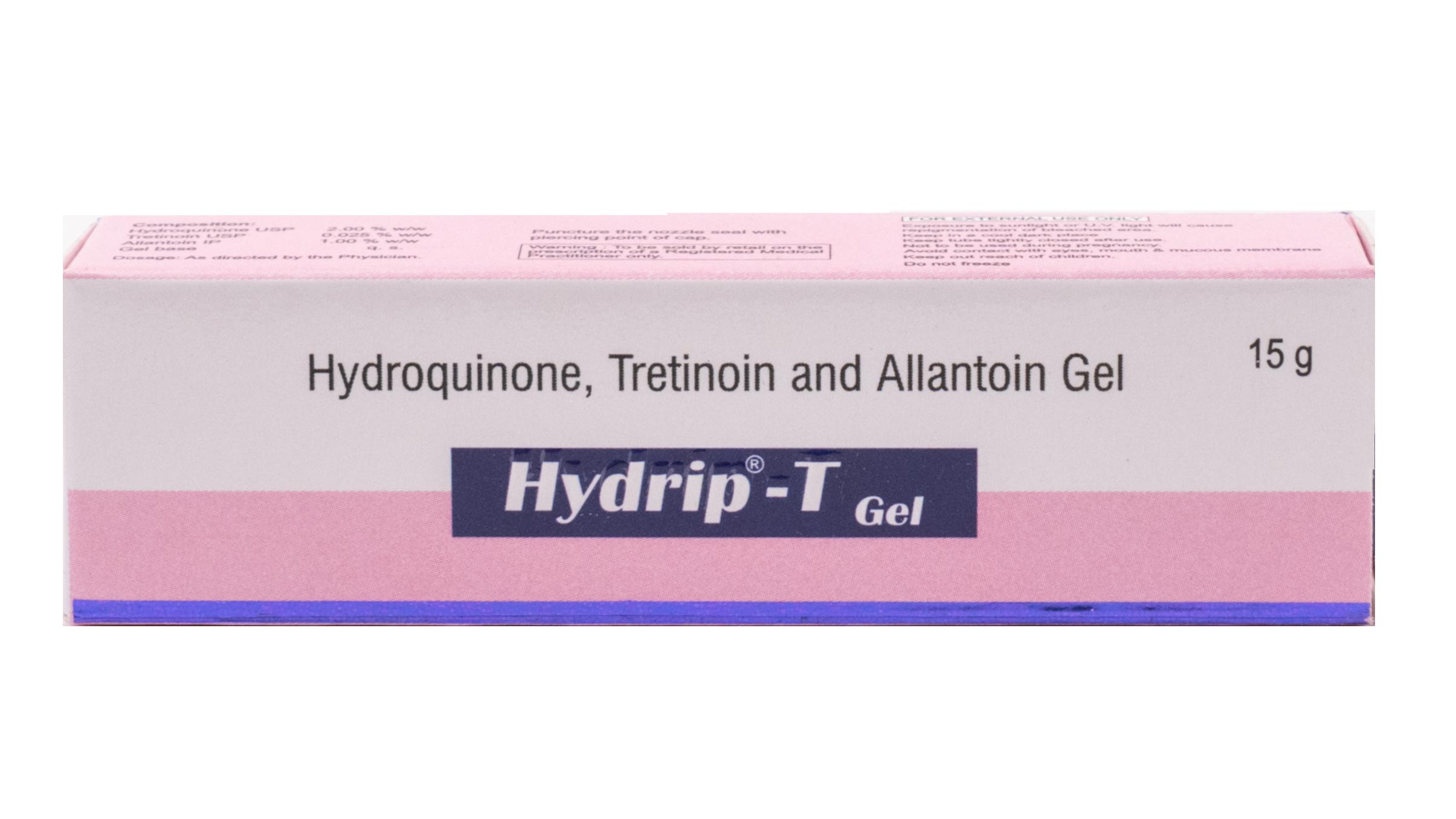 Hydroquinone , Tretinoin, Allantoin Gel