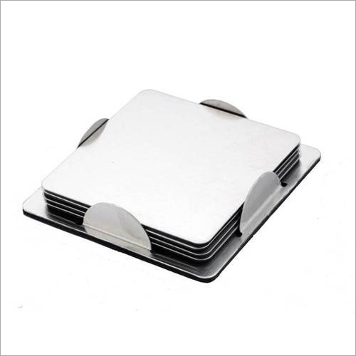 Stainless Steel Table Coaster Set