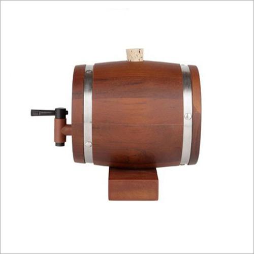 Teak Wood Decanter