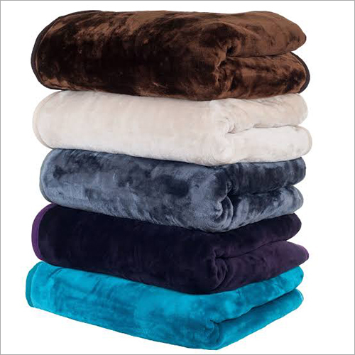 Coloured Mink Blanket