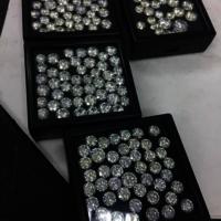 Cvd Diamond 3.40mm to 3.50mm GHI VVS VS Round Brilliant Cut Lab Grown HPHT Loose Stones TCW 1