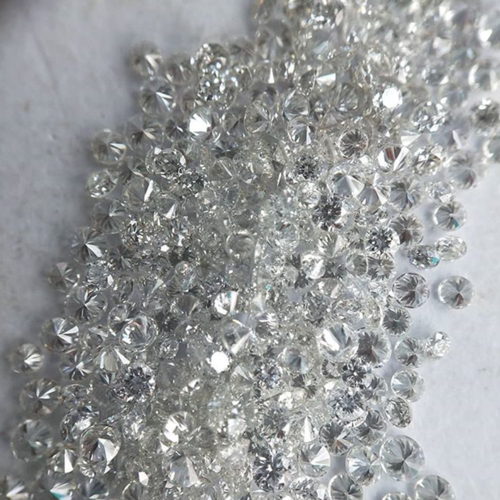 Cvd Diamond 3.60mm to3.70mm GHI VVS VS Round Brilliant Cut Lab Grown HPHT Loose Stones TCW 1