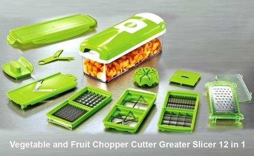 12 in 1 VEGETABLE SLICER,CUTTER, CHOPPER