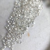 Cvd Diamond 1.10mm to 1.15mm GHI VS SI Round Brilliant Cut Lab Grown HPHT Loose Stones TCW 1