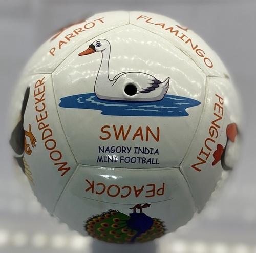 Mini Football Pasted Animal printed
