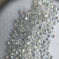 Cvd Diamond 1.20mm to1.25mm GHI VS SI Round Brilliant Cut Lab Grown HPHT Loose Stones TCW 1