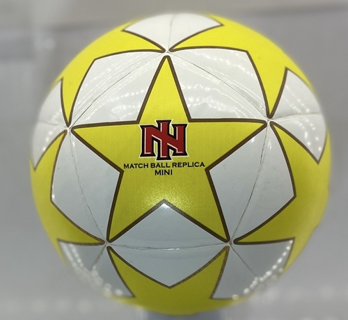 Mini Football Pasted yellow